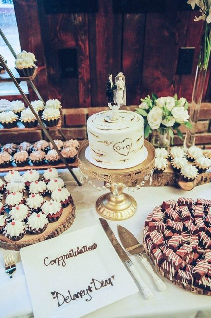 Tell me about the special touches at your wedding! 7