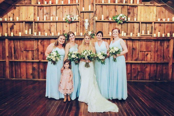 sil as bridesmaid! 1