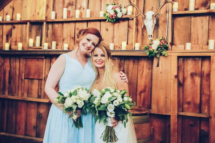 How much did you spend on flowers for your wedding? 5