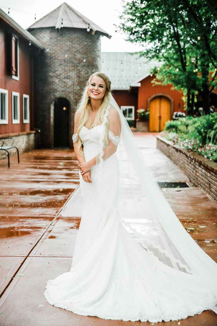 Me on our wedding day!