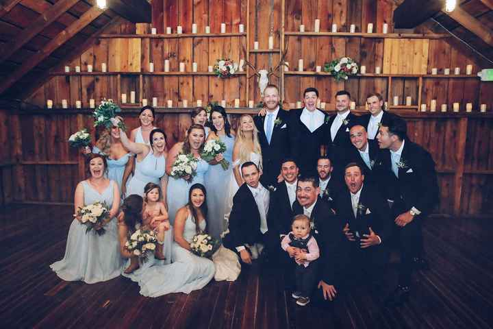 Too many in the bridal party? - 1
