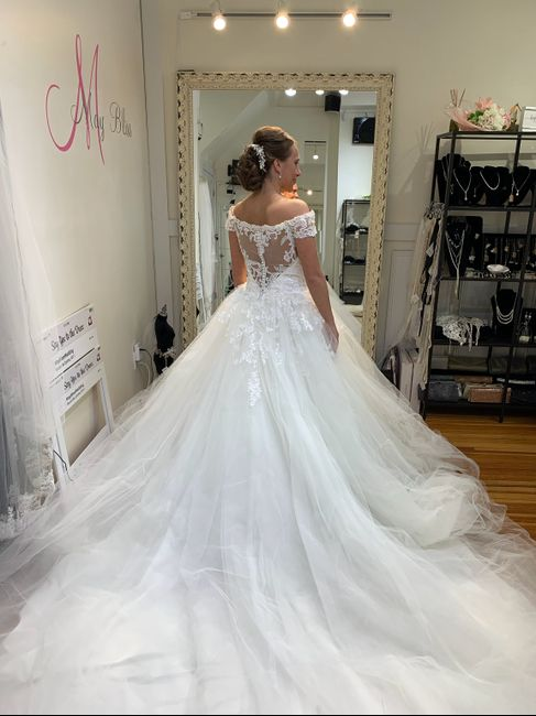 My dress has arrived - 2