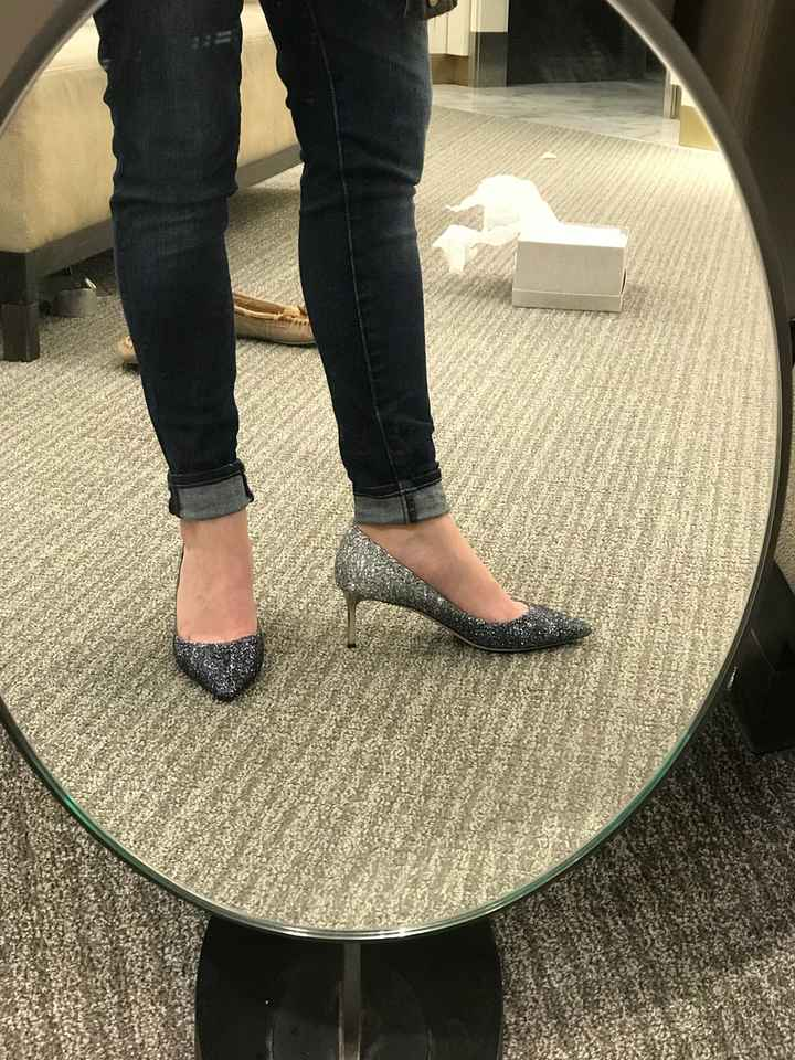 May have found my wedding shoes - 1