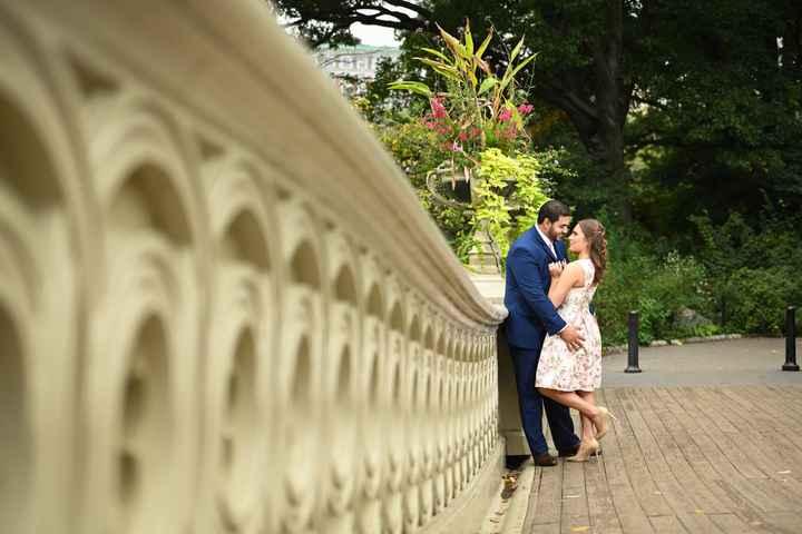 Central Park Engagement Shoot - 2