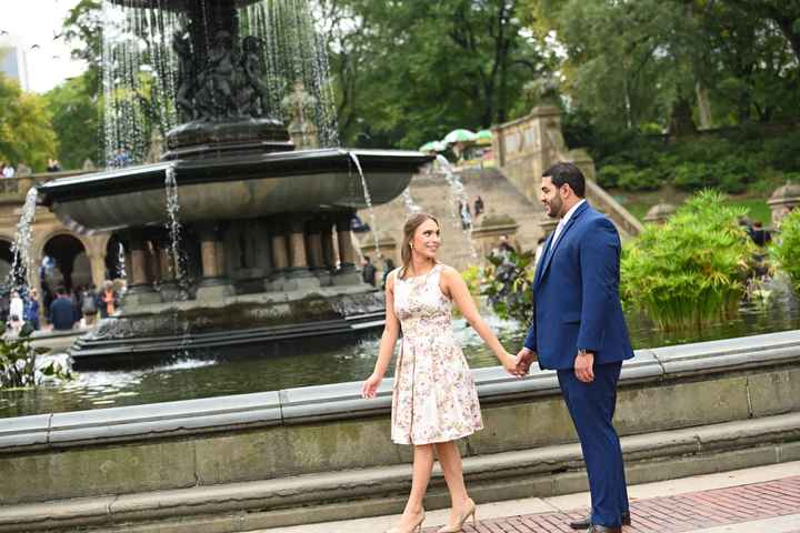 Central Park Engagement Shoot - 3