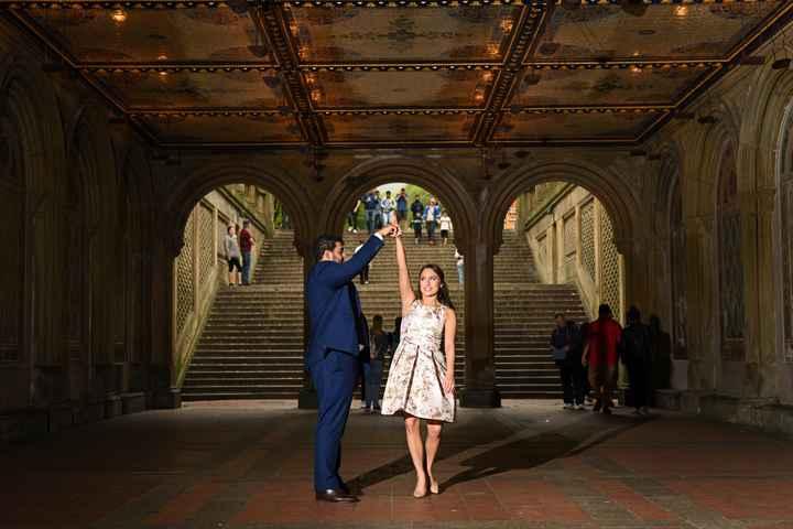 Central Park Engagement Shoot - 4