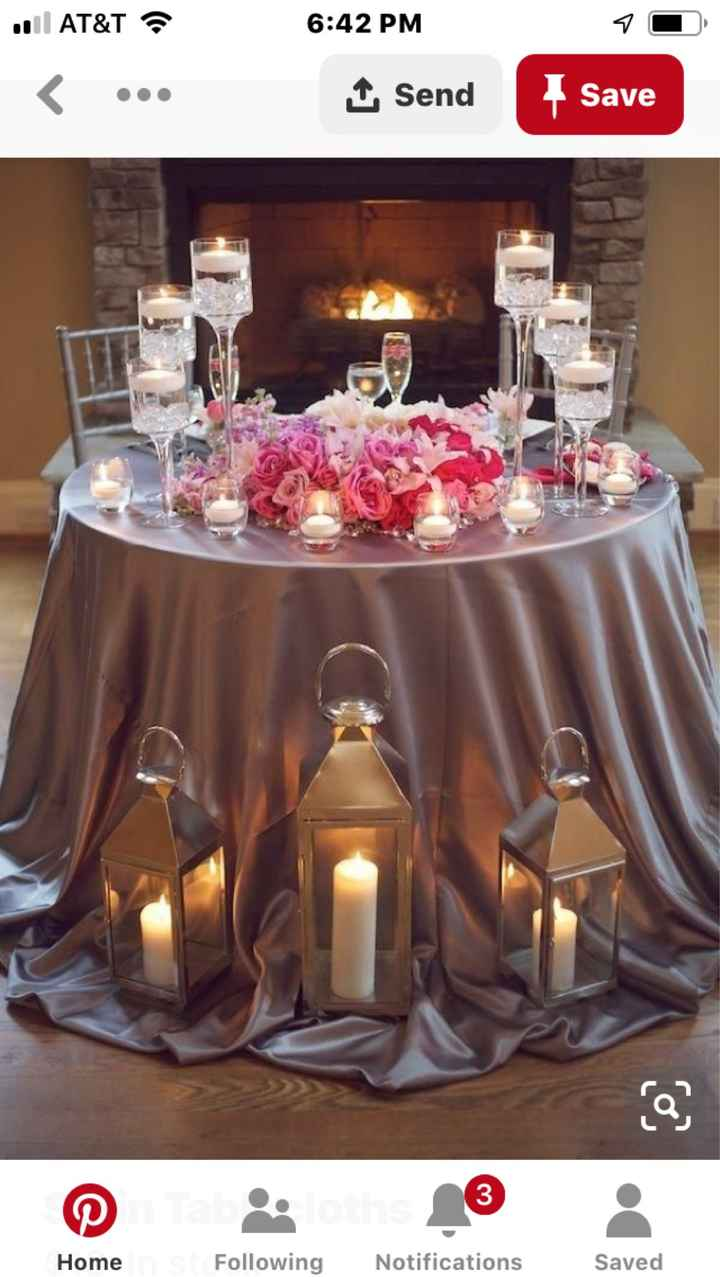 Fall wedding colors that go with burgundy - 3