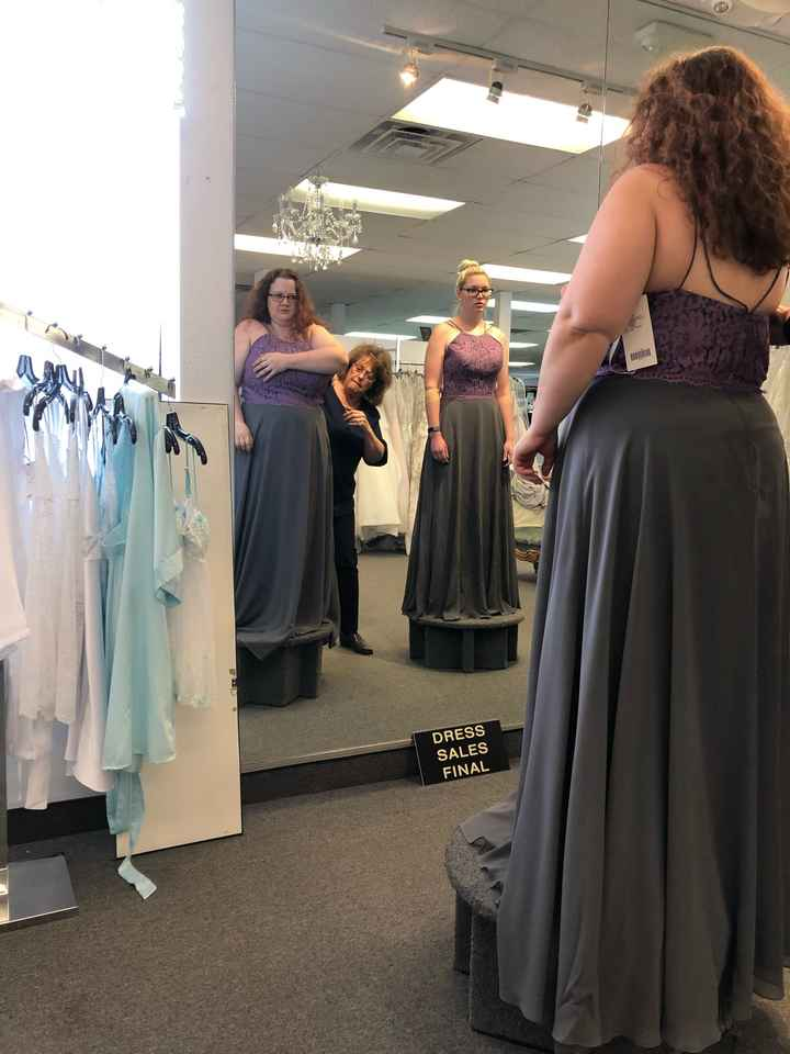 Let me see your bridesmaids dresses! - 1