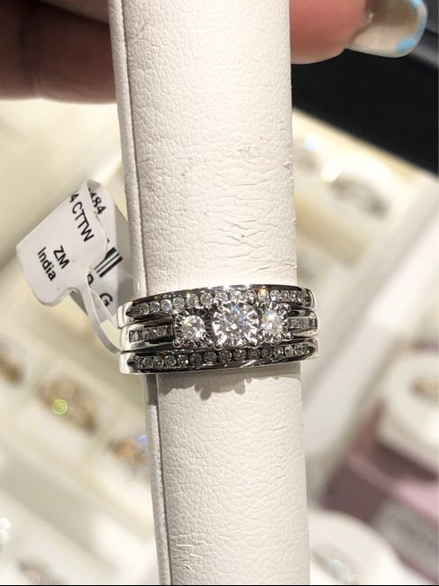 Show me your wedding ring set 3