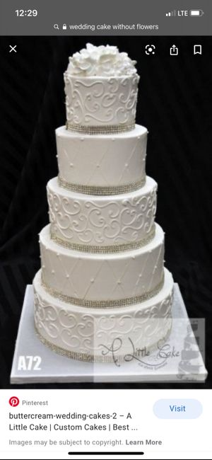 Wedding Cakes Without Flowers 3