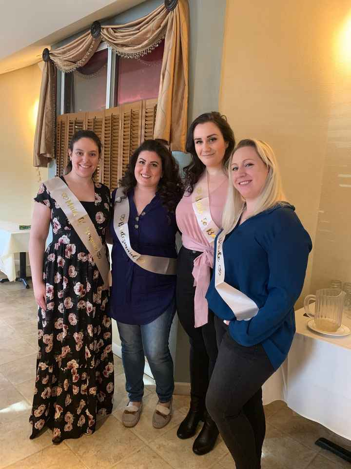 Bridal Shower today! 2.10.19 - 2