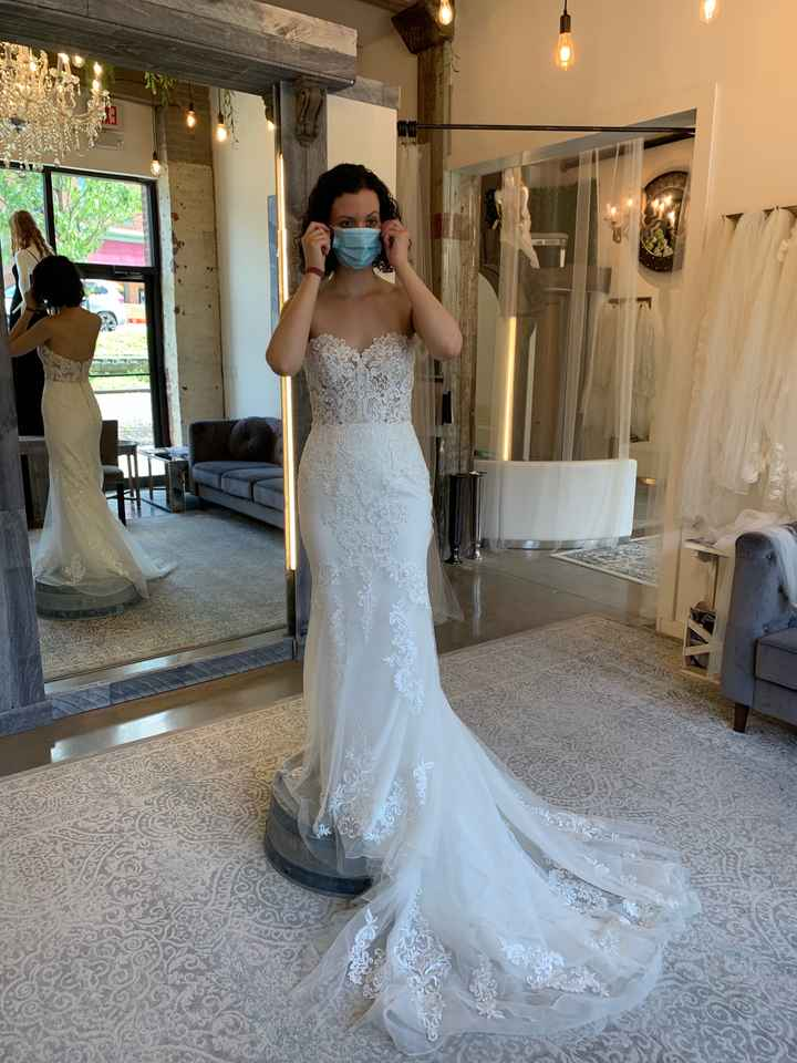 1St time dress shopping! What do you think?? - 1