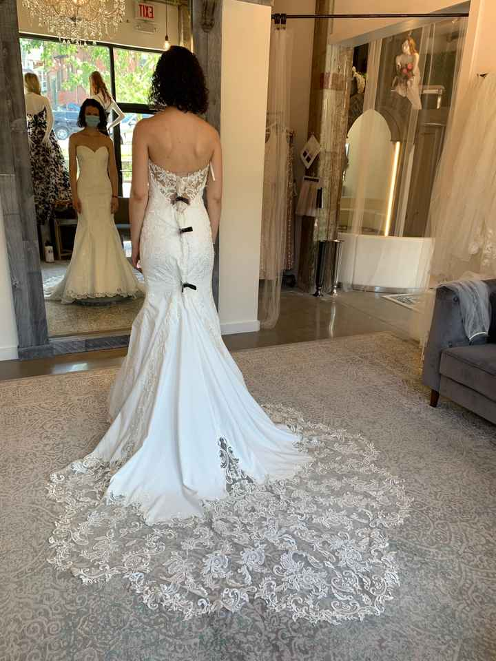 1St time dress shopping! What do you think?? - 3
