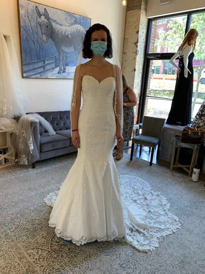 1St time dress shopping! What do you think?? - 4