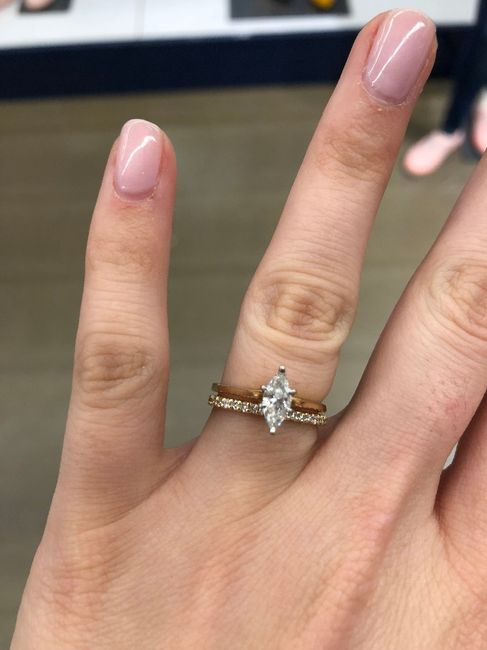 Show me your engagement ring! 10