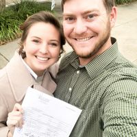 Licensed to wed!