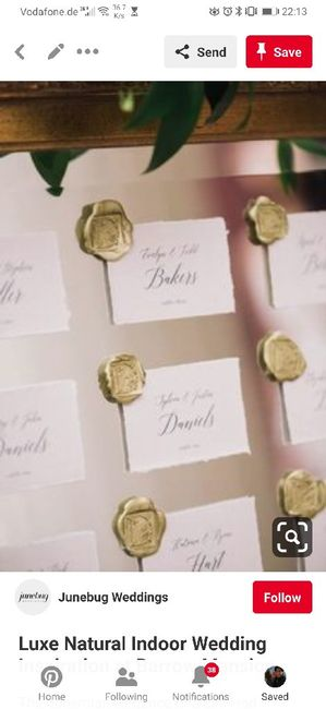 Escort cards idea - 1