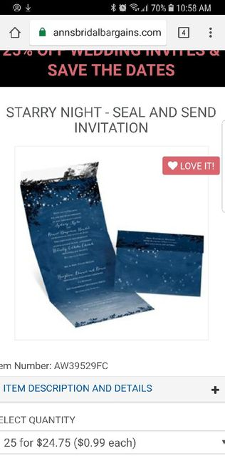 Fold and Send Invites - 1