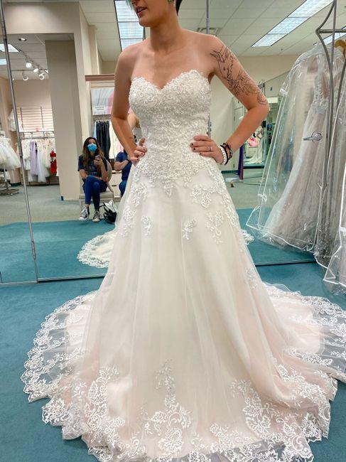 Wedding dress 💕 1
