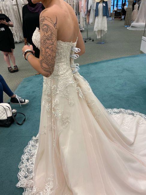 Wedding dress 💕 2