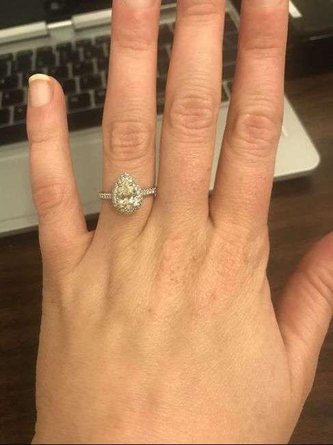 Show me your engagement rings!! - 1