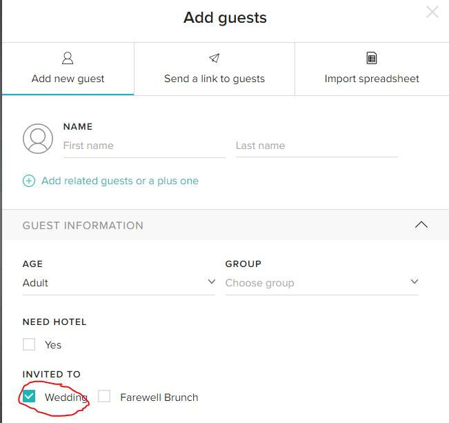 Trouble with guest list - 1