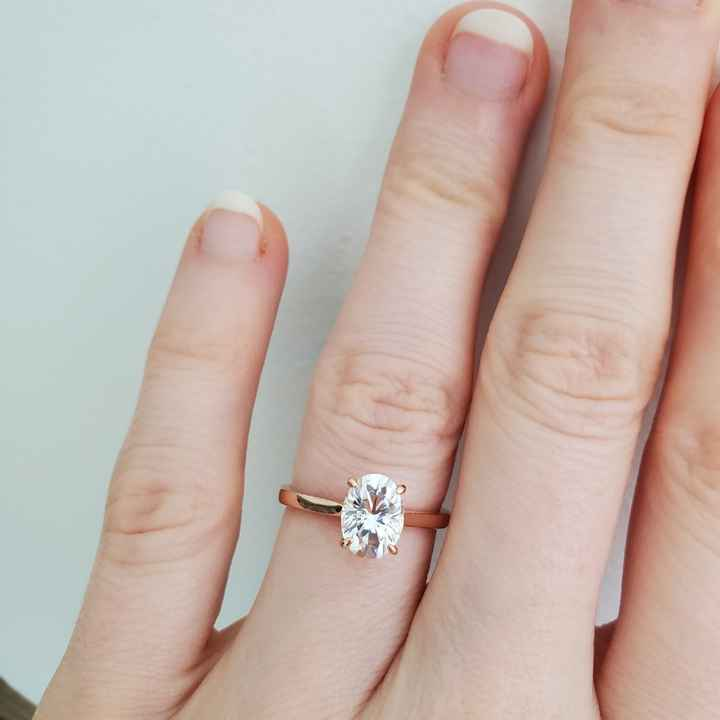 Show me your moissanite rings! 💍 - 1