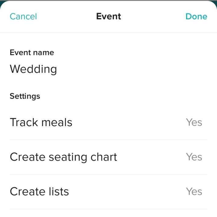 Personalizing the rsvp section - 1