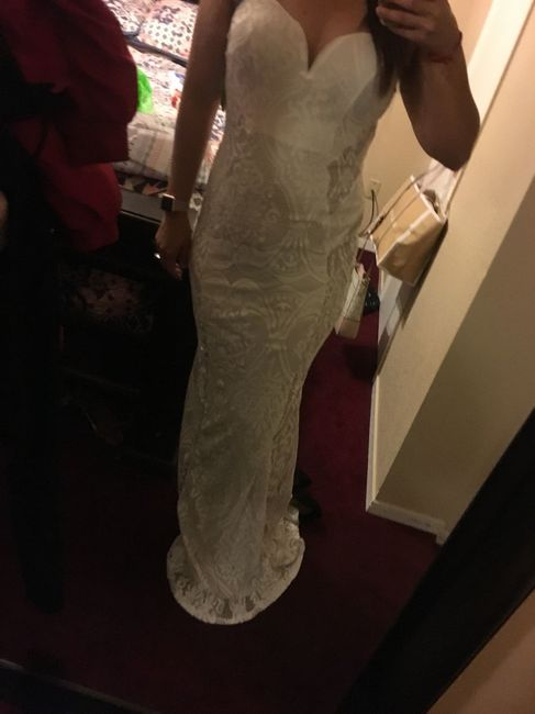 8a10c7867a60 ... that my dress looks too much like a wedding dress . I'm stress out I  have no idea if I should go buy something else . What do you guys think ?