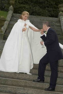 Winter Brides, are you wearing any of wrap/capelet or other winter acccesories?