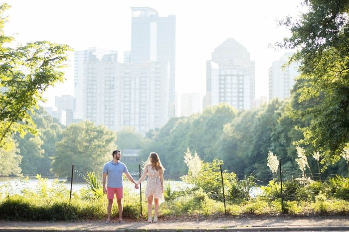 Engagement Picture locations in Atlanta, Ga 2