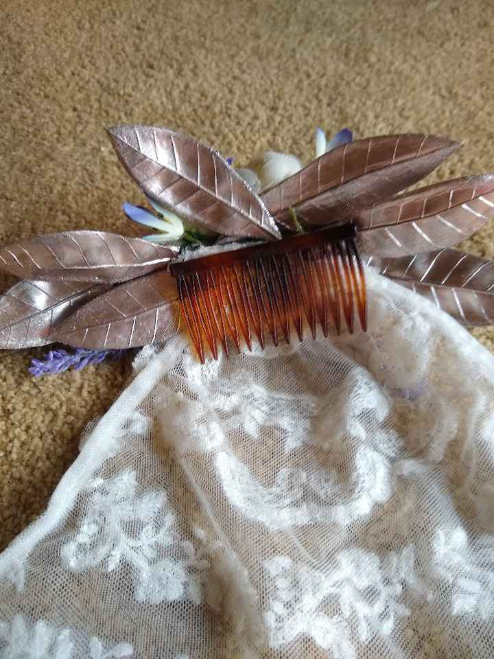 Made my hair comb, but wondering about a veil - 3