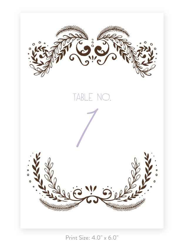 Which table number colour do you prefer? - 1