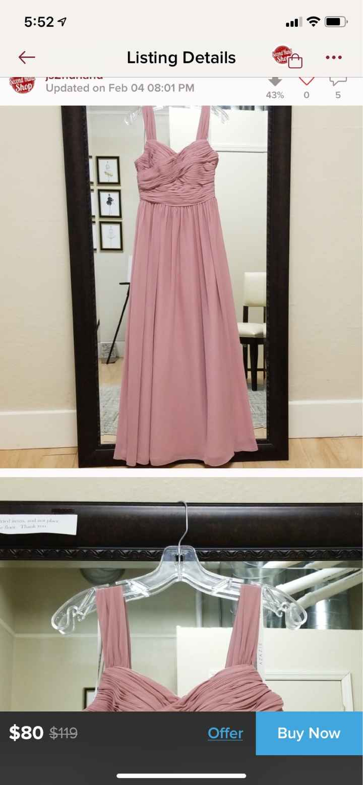 Help me find azazie a dress- vintage mauve- in size 2 or 4! - 1