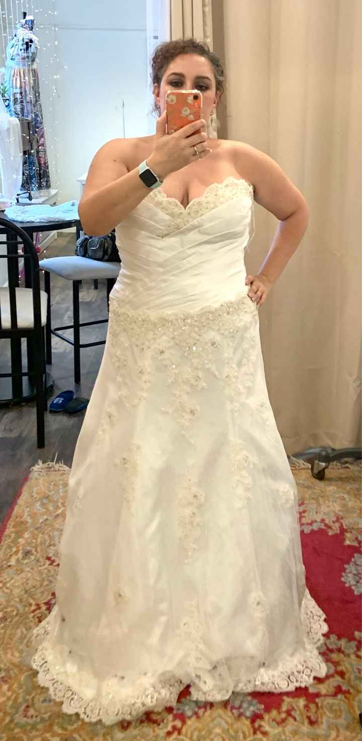 Final fitting...sort of!! Any other March 14th brides? - 1