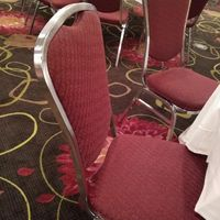 """Any way to """"tone down"""" these chairs besides covers? - 1"""