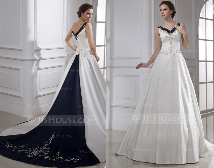 Different Colour Wedding Gown? 4