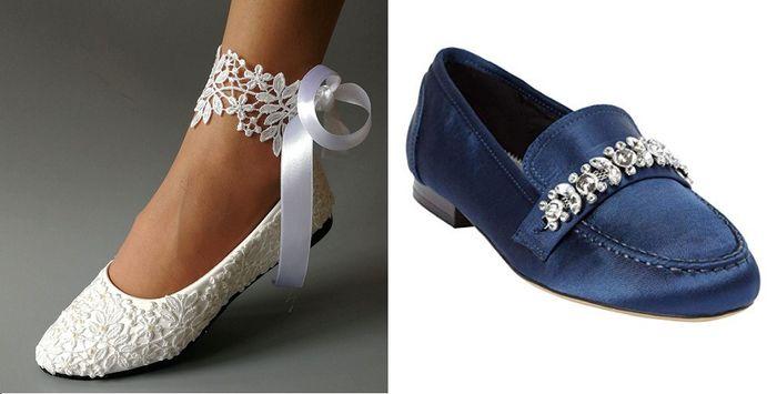 Petite brides - show me your shoes. 11