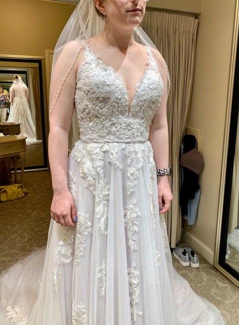 Petite brides Show your dresses! 13