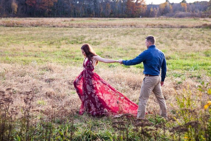 Engagement photos: fall outfits- show me your pictures! 9
