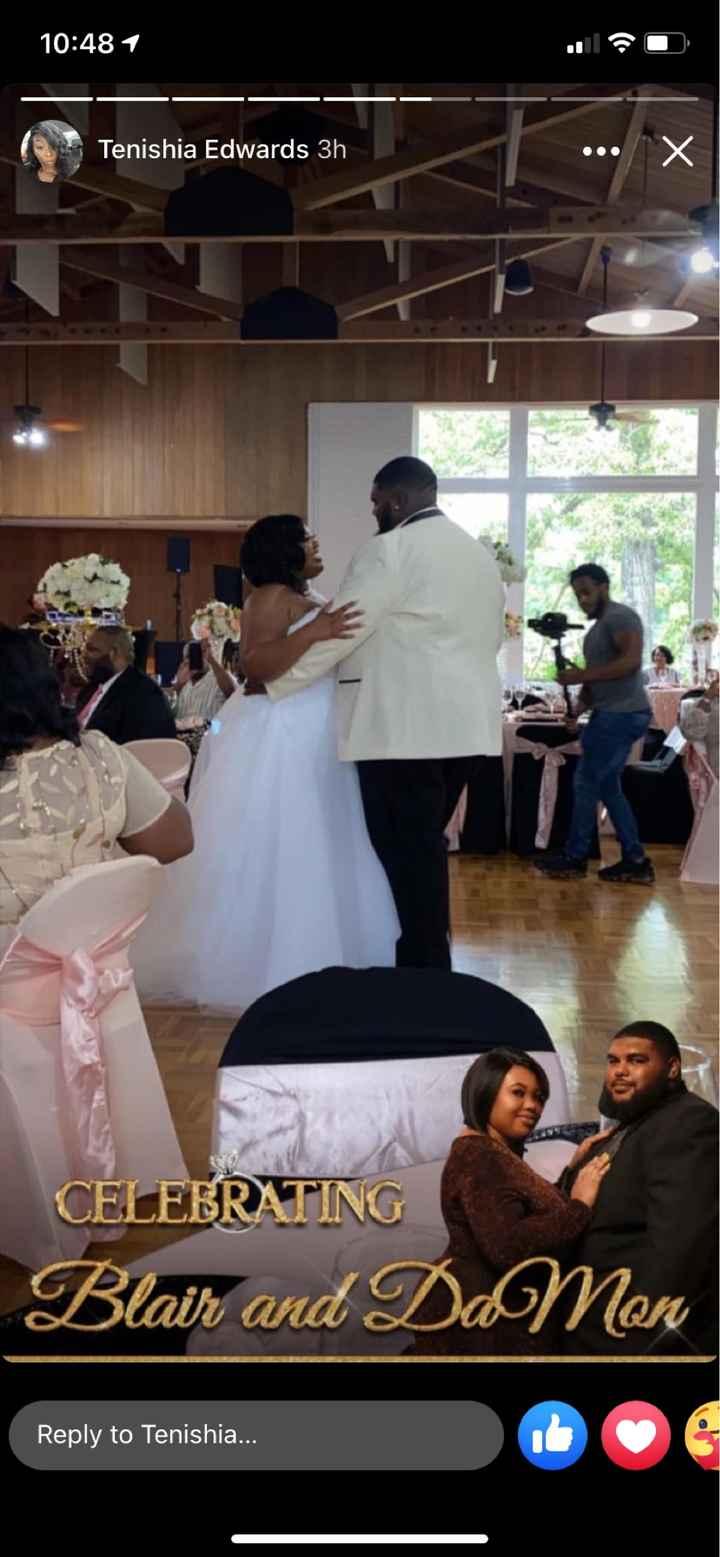 Back again with wedding reception photos - 8