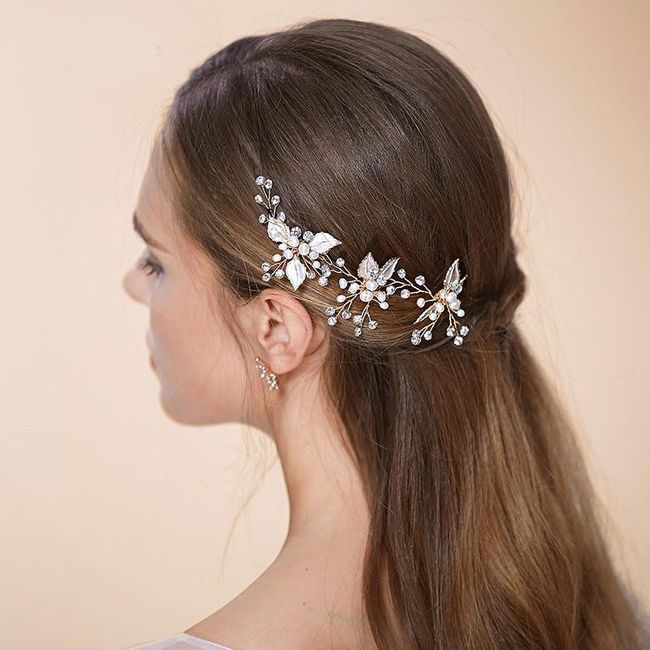 Side part hair embellishments 5