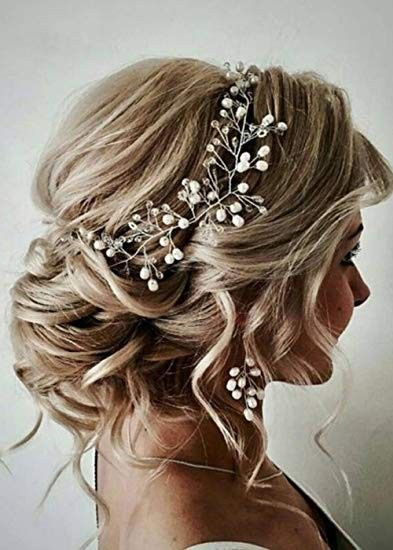 Side part hair embellishments 9