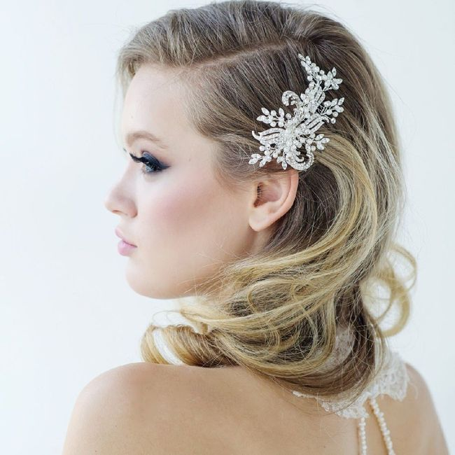 Side part hair embellishments 10