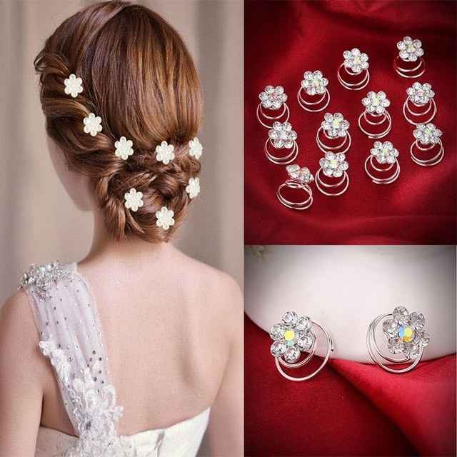 Side part hair embellishments - 2