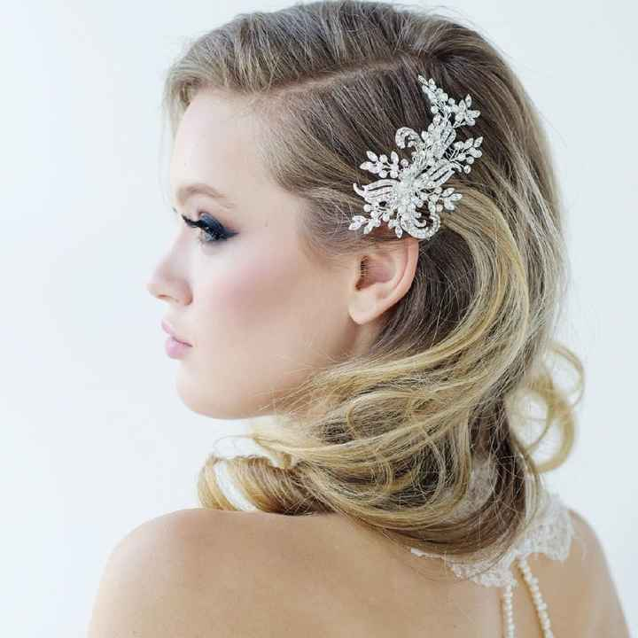 Side part hair embellishments - 3