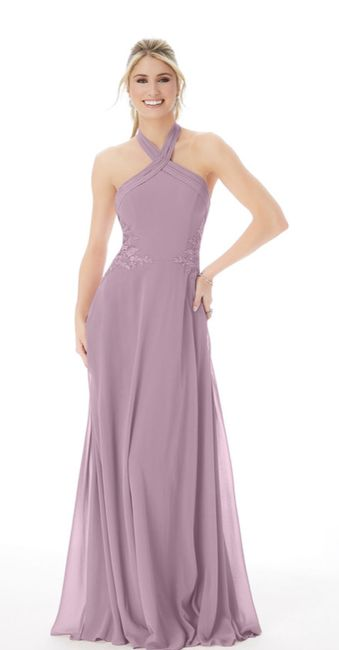 Advice needed! Bridesmaids dresses and tablecloths - too matchy? - 1
