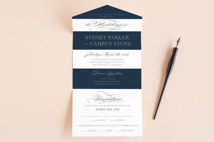 minted all in one invitations weddings planning wedding forums