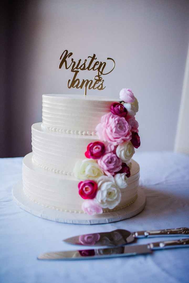 Our cake - so yummy