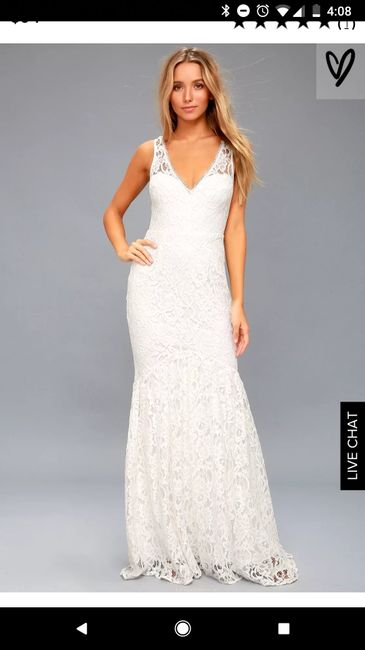 60e40eba8ff Lulu s for wedding dress